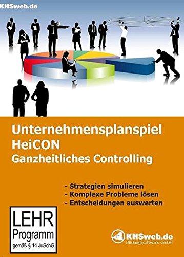 Schul- und Netzlizenz Unternehmensplanspiel HeiCON - Ganzheitliches Controlling: Simulations- und Strategiespiel für Windows-PCs (Windows 10 / 8 / 7 / Vista / XP)