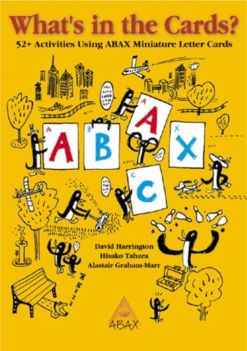 What's in the Cards?: 52 Activities Using Abax Miniature Letter Cards