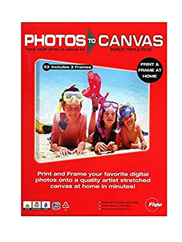 You Frame Photo sur toile Pack de 3 (Import Royaume Uni)