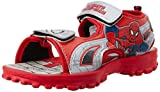 Spiderman Boy's Grey and Red Sandals and Floaters - 3 UK/India (35 EU)