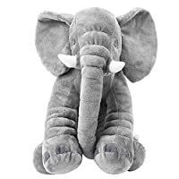 PandaHug Elephant Pillow Baby Toys Large Elephant Stuffed Plush Pillow Sleeping Elephant Pillow Cushion for Baby Toddler Kids