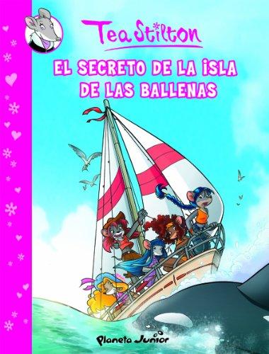 El secreto de la Isla de las Ballenas: Cómic Tea Stilton 1 (Cómic Ge