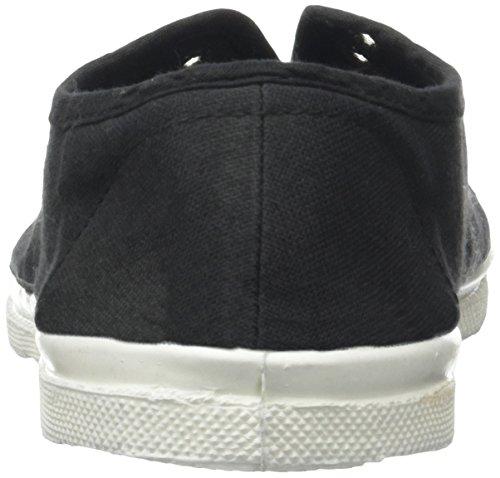Bensimon Tennis Elly Femme, Damen Hohe Sneakers Noir (Carbone)