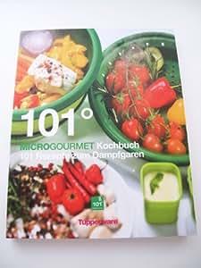 TUPPERWARE Kochbuch 101° Microgourmet Mikrowelle grün