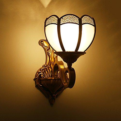 Preisvergleich Produktbild pwne European Copper Licht portallicht Wandleuchte Nachttischlampe Schlafzimmer gang Flurlampe Wohnzimmer Esszimmer Balkon Leuchten Wandleuchten,preiswert, einen angenehmen Einkauf