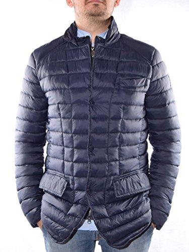 Giaccone corto invernale da uomo INVICTA, mod. Nylon Downproof, colore blu, art. 4436123U460