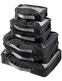 G4Free Cubos de Embalaje Valor Establecido para Viajes - 6pcs Protectora Bolso del Organizador