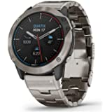 Orologio da uomo in titanio GARMIN QUATIX 6X con GPS 010-02157-31