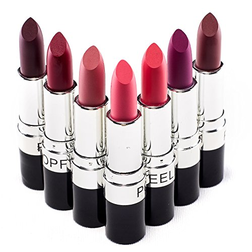 VALUE MAKERS® 7 Farben Make Up Lip Stick Hoch Pigmentierte Lip Pencil Cremige Lippenstifte