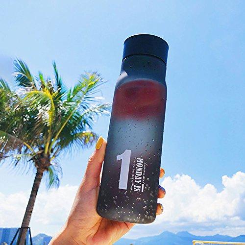TD Sommer-Einfache Plastikwasser-Schale mit Abdeckung Sports Scheuern Raum-Schalen-Studenten-Handschale (Farbe : 3)