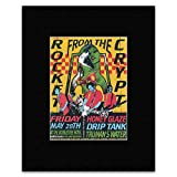 ROCKET FROM THE CRYPT - Friday May 28th At The Doubletree Hotel Matted Mini Poster - 18.7x14cm