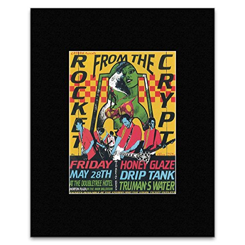 rocket-from-the-crypt-friday-may-28th-at-the-doubletree-hotel-matted-mini-poster-187x14cm