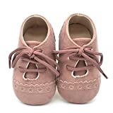 for 0-18 Months Kids, ❤️ Xinantime Baby Anti-Slip Soft Sole Sneaker Toddler Lace up Shoes (0~6 Month, Pink)