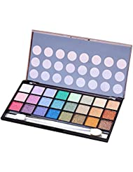 Charming 24 Bright Colors Matte Shimmer Eyeshadow Palette Makeup Eye Shadow Set