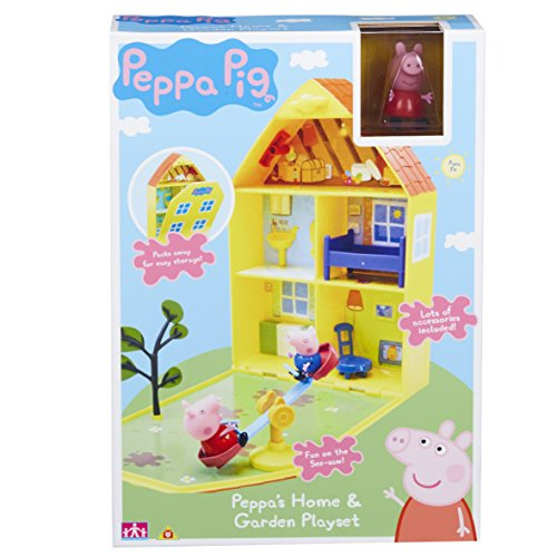 "Image of Peppa Pig 06156 ""Peppa's House & Garden"" Playset"