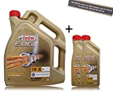 2x 1 L + 5 L = 7 Liter Castrol Edge Titanium FST™ 5W-30 LL Motor-Öl Motoren-Öl; Spezifikationen/Freigaben: ACEA C3; MB-Freigabe 229.31/ 229.51; VW 504 00/ 507.00