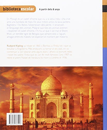 Biblioteca Escolar 002 - El llibre de la selva -Rudyard Kipling- - 9788430763023