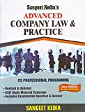 Pooja Law Publishing's Advanced Company Law & Practice for CS Professional June 2018 Exam by Sangeet Kedia