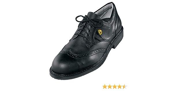 uvex Office S1 SRA Scarpe Antinfortunistiche Scarpa Bassa Pelle Puntale Protettivo in Acciaio Antiscivolo