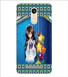PrintDhaba Fantasy Girl D-5661 Back Case Cover for XIAOMI REDMI NOTE 3 (MEDIA TEK) (Multi-Coloured)