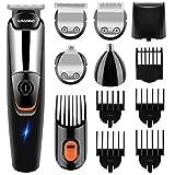 NAVANINO Tagliacapelli Elettrico, Multifunzionale Impermeabile Kit per la Barba, Trimmer per il Corpo e Tagliacapelli per Naso e Orecchie. Adatto a Bambini, Adulti e Anziani