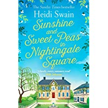 Sunshine and Sweet Peas in Nightingale Square
