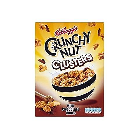 Croquants Lait De Noix De Copeaux De Chocolat Au Miel De Kellogg Et De Noix Clusters (450G)