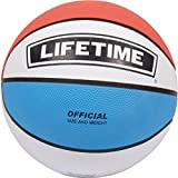 Lifetime Größe 7 Gummi Basketball, Bunt, M