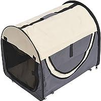 Stabile, faltbare Transporttasche für kleine Hunde, Welpen, Katzen und andere Kleintiere!