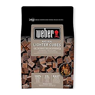 Weber 17612 Lighter cube, Mixed, 38x17x5 cm