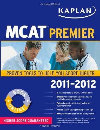 Kaplan MCAT Premier 2011-2012 (Kaplan Mcat Premier Program)