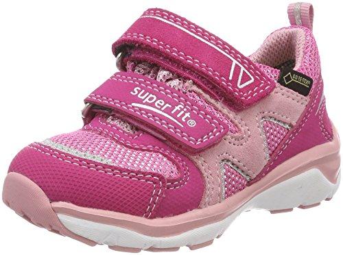 Superfit Mädchen SPORT5 Sneaker, (Pink Kombi), 27 EU
