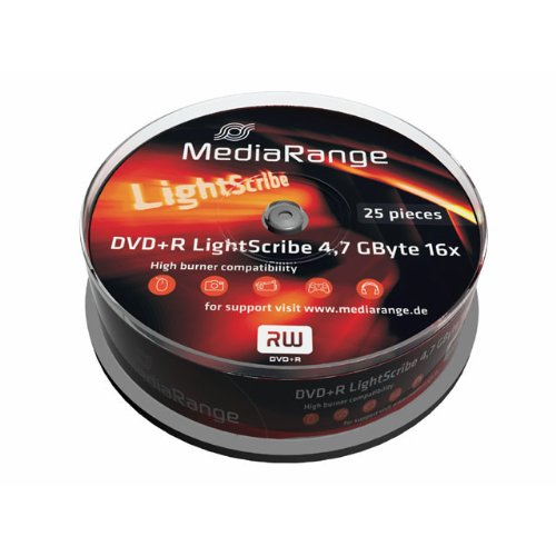 MediaRange Blank DVD + R 4.7GB L...