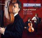Bach - Offenbach - Popper : le Maître & l'Elève   Bach, Johann Sebastian (1685-1750). Compositeur