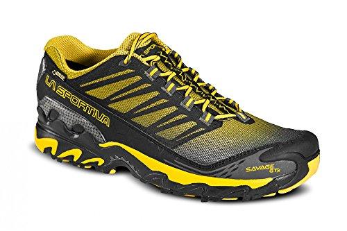 La Sportiva Savage GTX negro zapatos amarillos 2015 Negro negro Talla:40