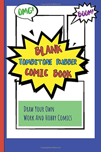 er Comic Book: Draw Your Own Work And Hobby Comics Omg! Boom! ()