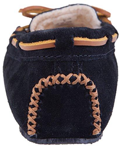Minnetonka Cally 4014, Pantofole Donna Blu