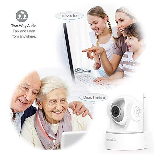Wansview 1080P WiFi Wlan IP Sicherheits kamera - 5
