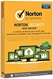Norton Security avec Backup  (10 appareils, 1 an)...