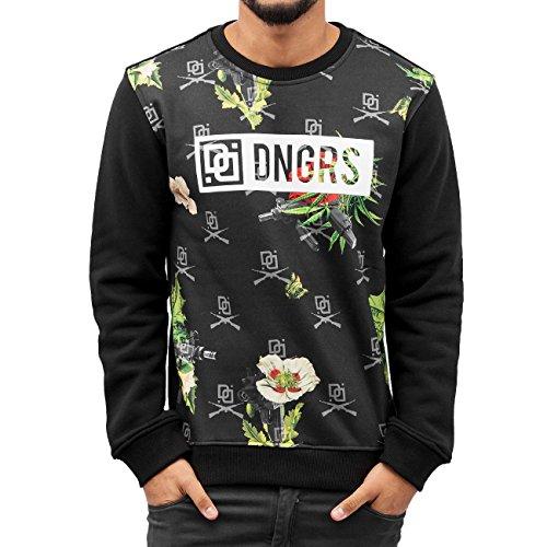Dangerous DNGRS Homme Hauts / Pullover Drugs Noir