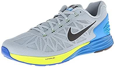 buy popular 23769 b5c87 ... Nike Men s Lunarglide 6 Running Shoe-Light Magnet Grey Photo Blue-10
