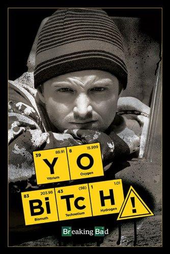 Breaking Bad Inscription Yo Bitch Maxi Poster, Divers