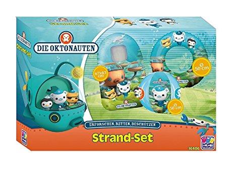Matratze Liegematratze Kindermatratze Kinderluftmatratze Luftmatratze + Wasserball - Ball + Schwimmring - Ring - Oktonauten
