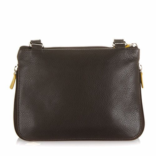 Mywalit Cuir sac bandoulière Copenhagen Collection 1890 Marron Evergreen