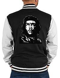 US Men - Boy College Jacke - Che Guevara - Motiv auf der Rückseite