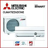 Mitsubishi Electric MSZ-WN35VA Kit Climatizzatore Inverter Monosplit Pompa di...