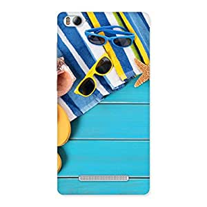 Cool Beach Design Back Case Cover for Xiaomi Mi4i