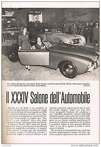 Francesco Buffoni - IL XXXIV SALONE DELL'AUTOMOBILE