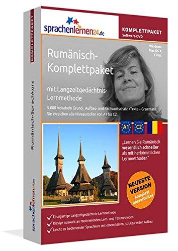 Sprachenlernen24.de Rumänisch-Komplettpaket (Sprachkurs): DVD-ROM für Windows/Linux/Mac OS X inkl. integrierter Sprachausgabe mit über 5700 Vokabeln und Redewendungen
