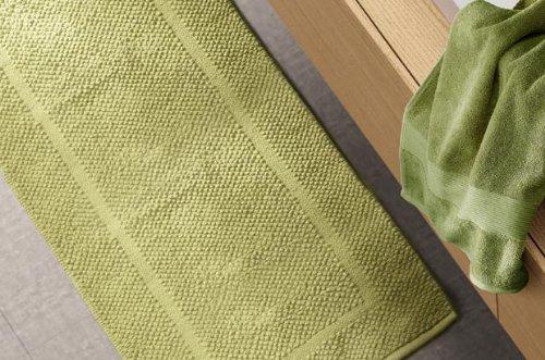 Tappeto arredo bagno zucchi solotuo tinta unita col.1715 grigio asfalto cm 50 x 80 lavorato a mano 100% puro cotone da 1550gr/mq